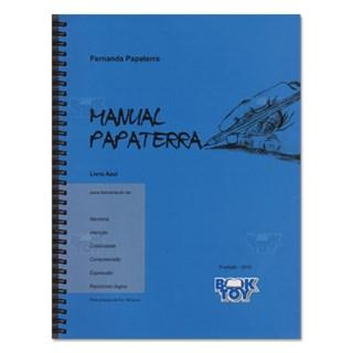 Livro - Manual Papaterra - Azul - Papaterra