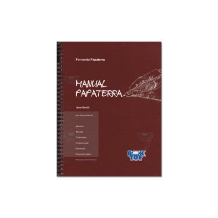 Livro - Manual Papaterra - Bordô - Papaterra