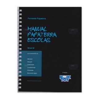 Livro - Manual Papaterra Escolas - Nível IV