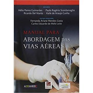Livro - Manual para abordagem das vias aéreas -  Guimarães