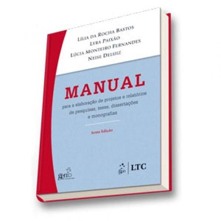 Livro - Manual para Elaboração de Projetos - Bastos