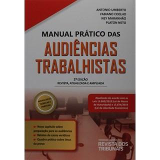 Livro - Manual Prático das Audiências Trabalhistas - Souza - Revista dos Tribunais
