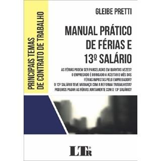 Livro - Manual Prático de Férias e 13º Salário - Pretti