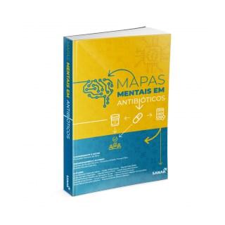 Livro - Mapas Mentais em Antibióticos - Silva - Sanar