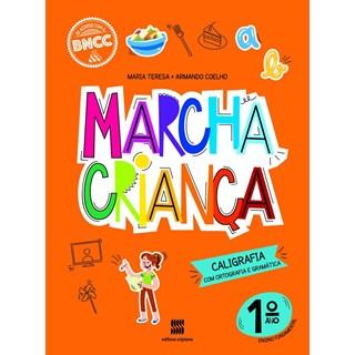 Livro - Marcha Criança Caligrafia - 1 Ano - Scipione