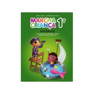 Livro - Marcha Criança Integrado - 1 Ano - Scipione - (Kit Com 2 Vol)