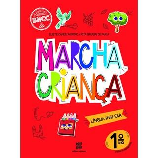 Livro - Marcha Criança Língua Inglesa - 1 Ano - Scipione