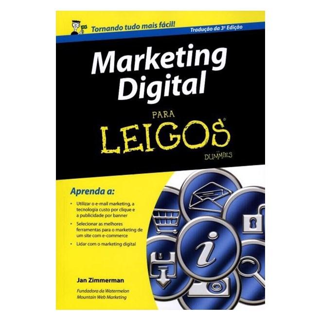 Livro - Marketing Digital Para Leigos - Zimmerman
