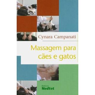 Livro - Massagem para Cães e Gatos - Campanati