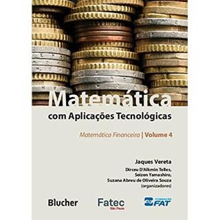 Livro Matemática com Aplicações Tecnológicas - Vereta - Blucher