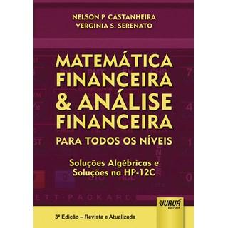 Livro - Matemática Financeira & Análise Financeira - Serenato - Juruá