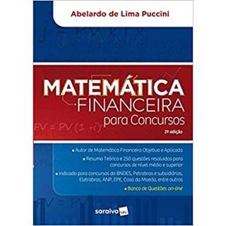 Livro - Matematica Financeira Para Concursos - Saraiva