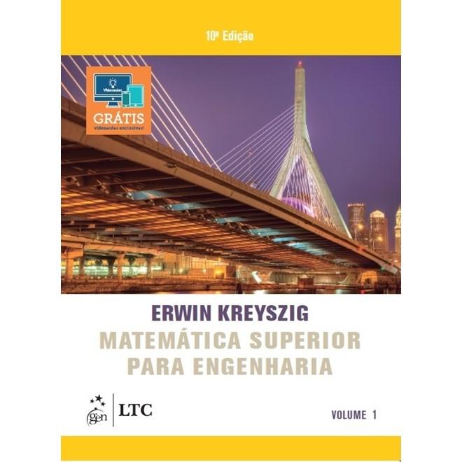 Livro - Matemática Superior para Engenharia - Kreyszig