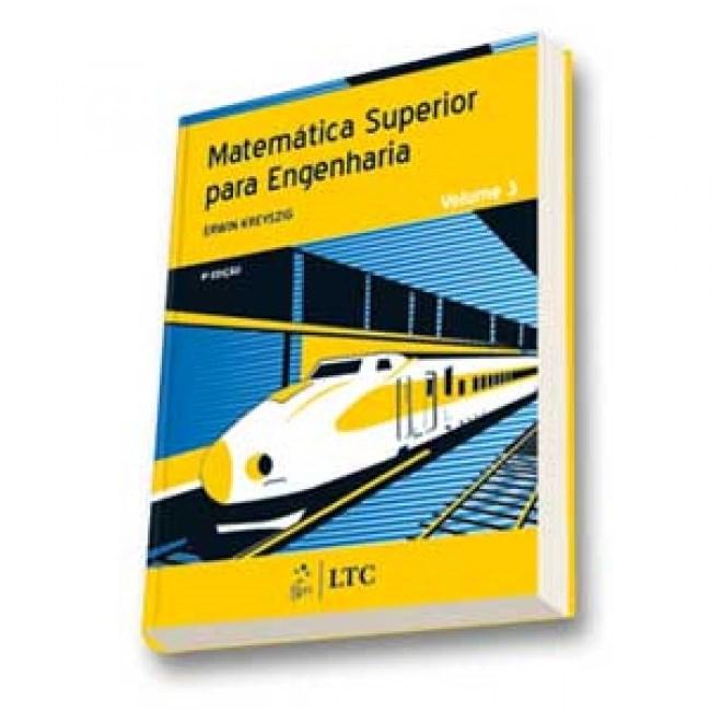 Livro - Matemática Superior para Engenharia Vol. 3 - Kreyszig