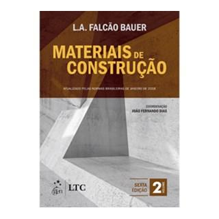 Livro - Materiais de Construção - Vol. 2 - Bauer