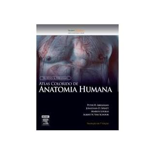 Livro - McMinn Atlas Colorido de Anatomia Humana - Abrahams ***
