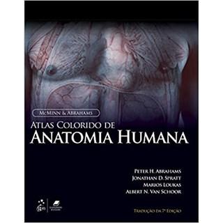 Livro McMinn Atlas Colorido de Anatomia Humana - Abrahams