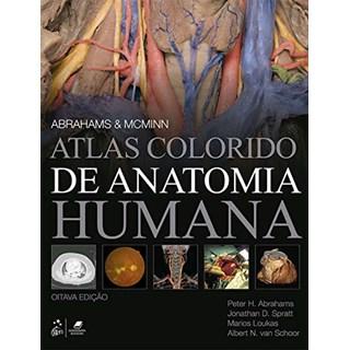 Livro McMinn Atlas Colorido de Anatomia Humana - Abrahams - Guanabara