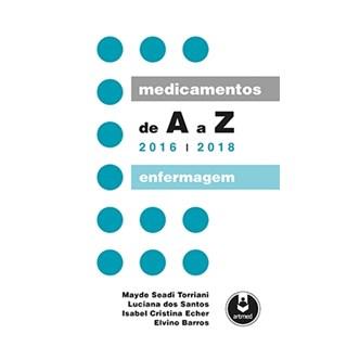 Livro - Medicamentos de A a Z - Enfermagem 2016-2018 - Barros