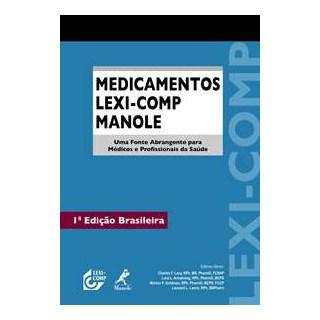 Livro - Medicamentos Lexi-Comp Manole - Lacy***