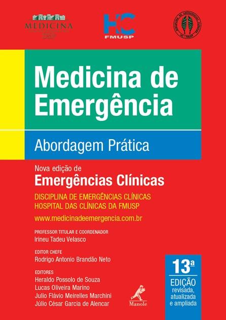 Livro - Medicina de Emergencia - Abordagem Prática - USP - 2019