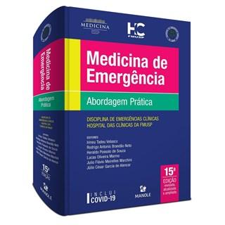 Livro Medicina de Emergência - USP - 15ª Edição 2021 - Velasco - Pré-Venda