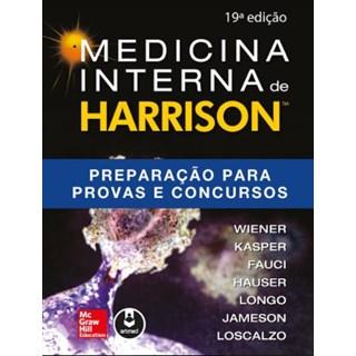 Livro - Medicina Interna de Harrison Preparação para Provas e Concursos - Wiener