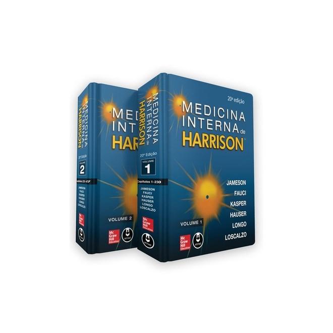 Livro - Medicina Interna - Harrison 2 Volumes - 20a Ed.2020 - Português