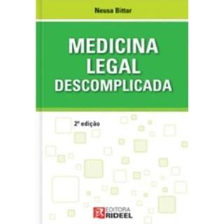 Livro - Medicina Legal Descomplicada - Bittar