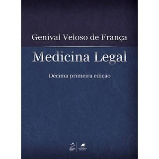 Livro - Medicina Legal - França - Guanabara
