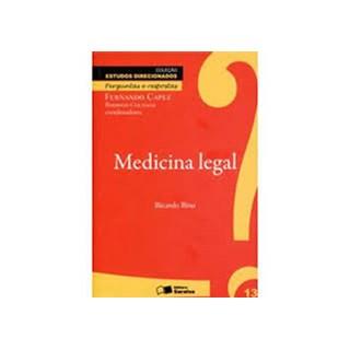 Livro - Medicina Legal Perguntas e Respostas - Bina