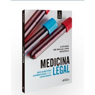 Livro - Medicina Legal - Questões Comentadas para Concursos - Gazzola