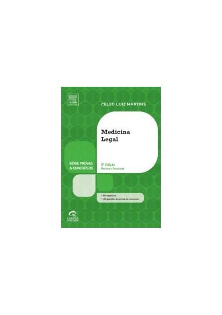 Livro - Medicina Legal - Série Provas e Concursos - Martins