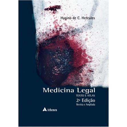Livro - Medicina Legal - Texto e Atlas - Hercules