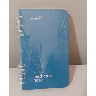 Livro Medicine Note 3ª Edição - Sanar