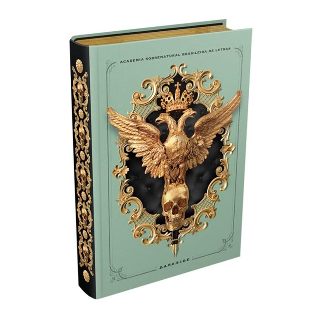 Livro - Medo Imortal - Academia Sobrenatural Brasileira de Letras - Darkside