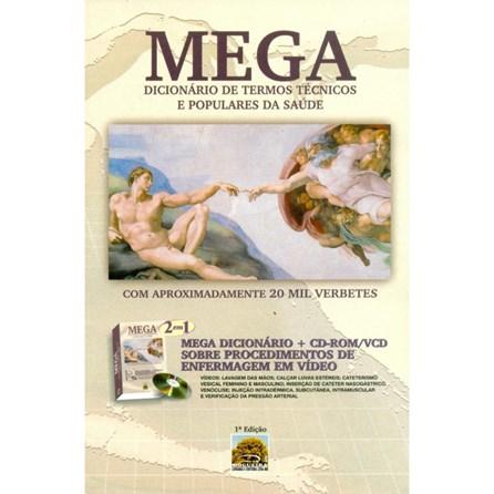 Livro - Mega - Dicionário de Termos Técnicos e Populares da Saúde - Nogueira