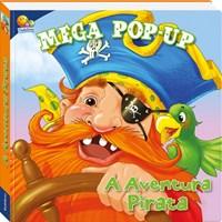 Livro Mega Pop-Up A Aventura Pirata Frampton