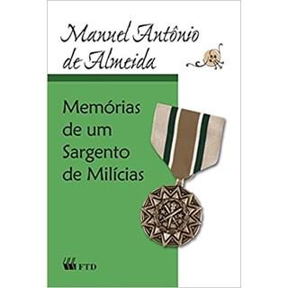 Livro Memórias de um Sargento de Milícias - Almeida - FTD