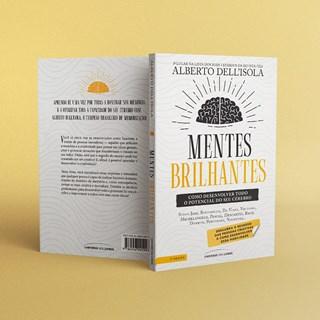 Livro Mentes Brilhantes - Dell'Isola - Universo dos Livros