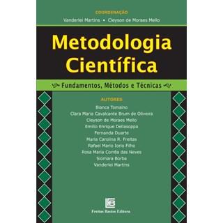 Livro - Metodologia Científica - Fundamentos, Métodos e Técnicas - Martins