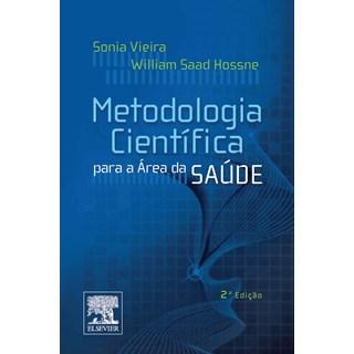 Livro - Metodologia Cientifica para a Areá da Saúde - Vieira