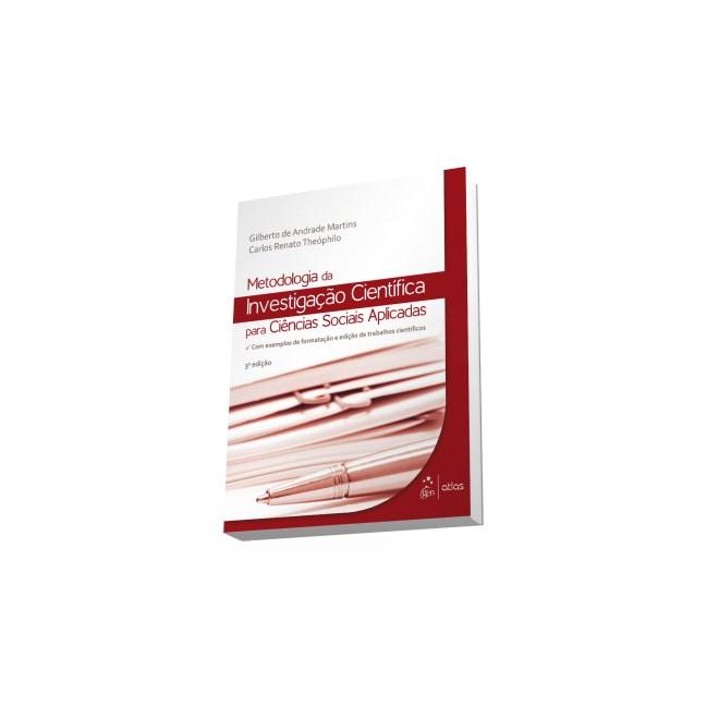 Livro - Metodologia da Investigação Científica para Ciências Sociais Aplicadas - Martins