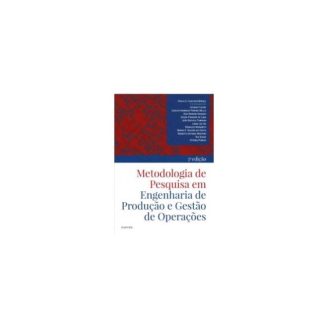 Livro - Metodologia de Pesquisa em Engenharia de Produção - Cauchick