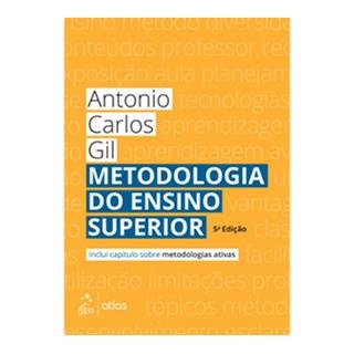 Livro - Metodologia do Ensino Superior - Gil