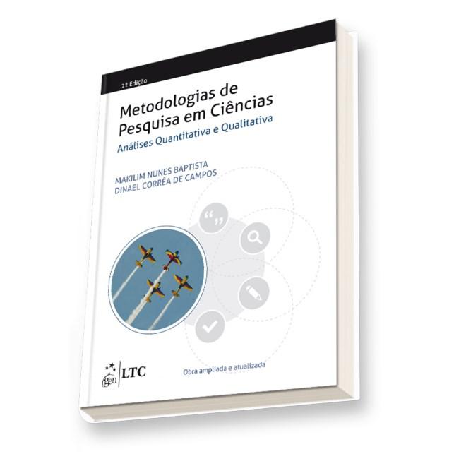 Livro - Metodologias de Pesquisa em Ciências: Análise Quantitativa e Qualitativa - Campos