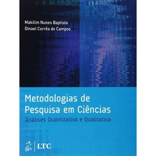 Livro - Metodologias de Pesquisa em Ciências - Análises Quantitativa e Qualitativa - Campos