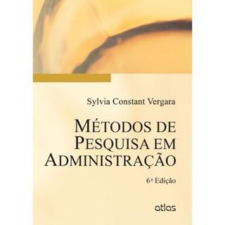 Livro - Métodos de Pesquisa em Administração - Vergana