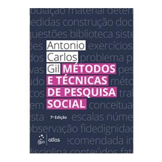 Livro - Métodos e Técnicas de Pesquisa Social - Gil
