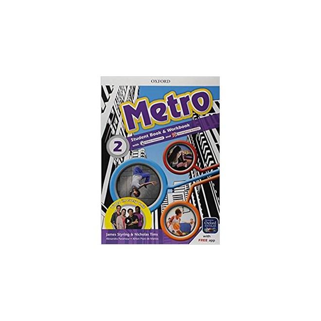 Livro - Metro 2 Student Book e Workbook - Oxford